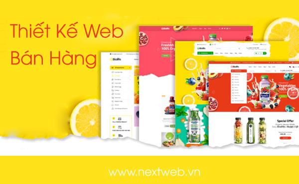 Thiết kế website bán hàng chuyên nghiệp – chi phí tối thiểu, hiệu quả tối đa