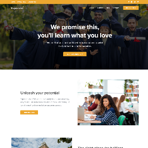 Mẫu website giới thiệu trường học – NEX0002
