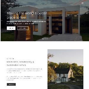 Mẫu website giới thiệu công ty kiến trúc – NEX0003