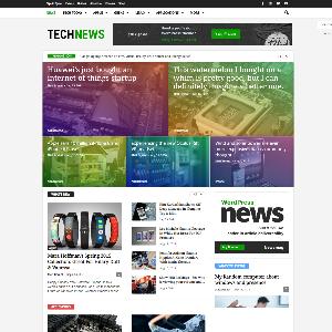 Mẫu website tin tức công nghệ thông tin