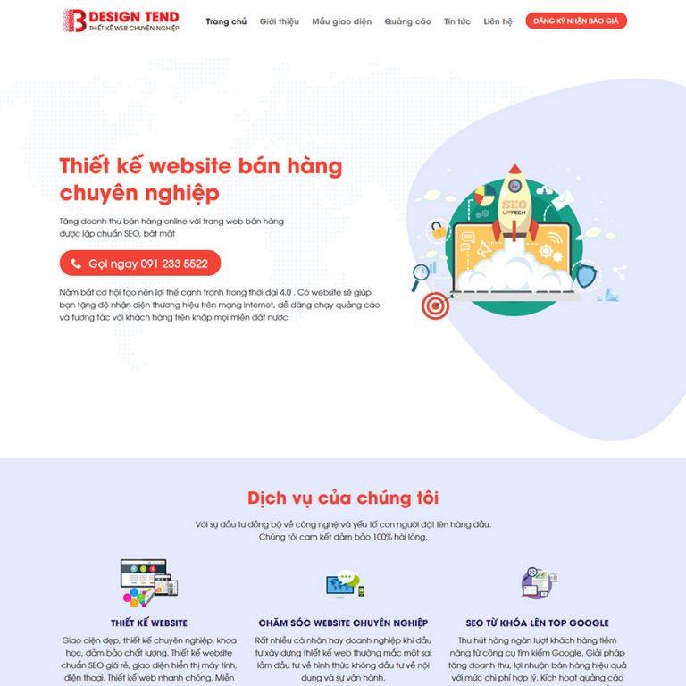 Mẫu web dịch vụ thiết kế web 02
