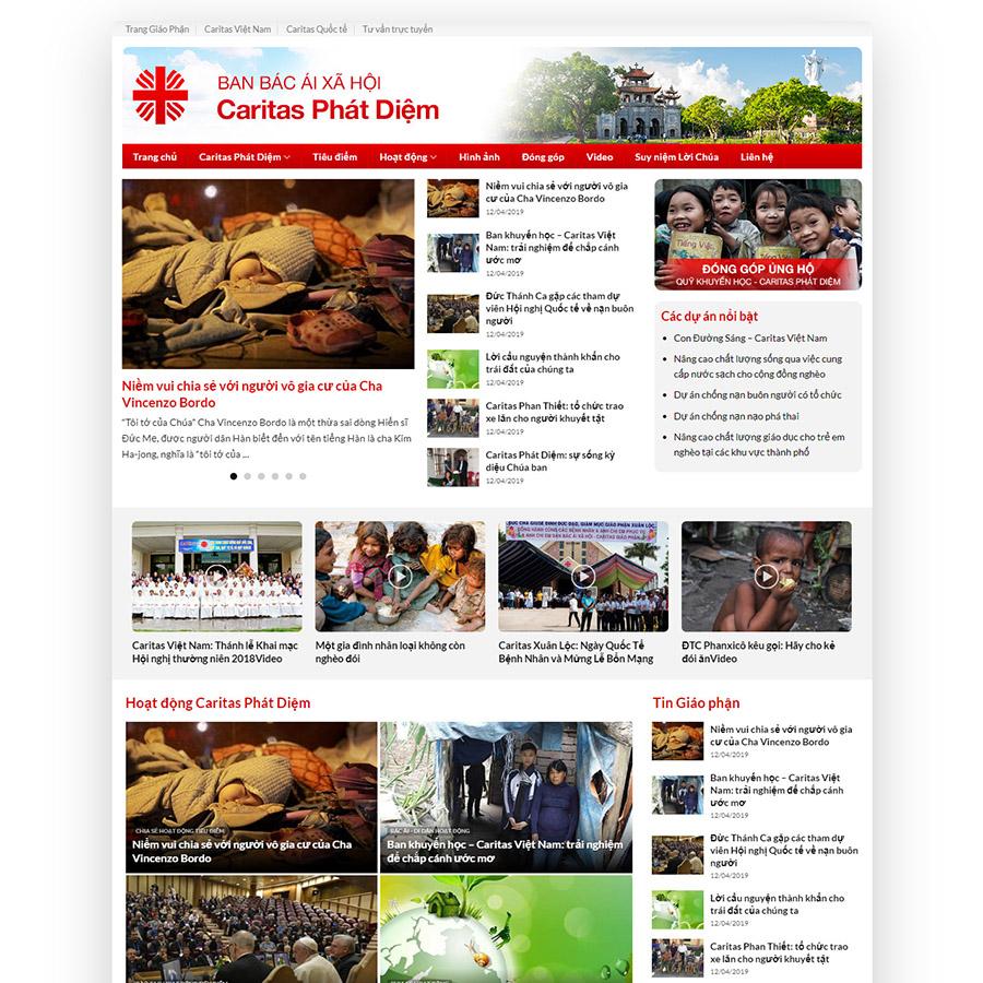 Mẫu web tin tức 07